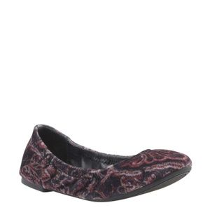 Lucky Brand Emmie Paisley Flatsx Size 5.5 163273